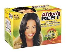 Africa's Best Dual-Conditioning No-Lye Relaxer, Regular (5 Pack)