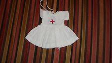 Vintage Doll Clothes  Small Nurse's Pinafore