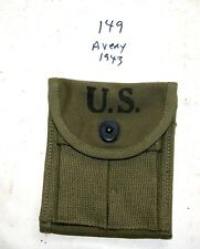 "Original USGI WWII M1 Carbine Stock Pouch, ""Avery"", 1943,  NEW"