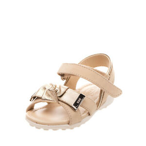 RRP€160 TOD'S JUNIOR Leather Slingback Sandals EU 23 UK 6.5 US 7.5 Made in Italy