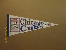 MLB Chicago Cubs WORLD SERIES Circa 1945 SGA REPRODUCTION Logo Baseball Pennant