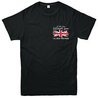 If This Flag Offends You I Will Help You Pack T-Shirt, Union Jack Patriotic Top