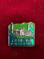 Trail BC Silver City Of Canada British Columbia Tie Lapel Pin .75""