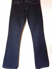 "WOMEN'S JEANS LEE RIDERS BOOTCUT STRETCH SIZE 9/27"" LEG 32"" FREE POSTAGE"