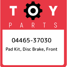 04465-37030 Toyota Pad kit, disc brake, front 0446537030, New Genuine OEM Part