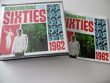 REMEMBERING THE SIXTIES 1962 3 CD 62 TRK WILDE DION PRESLEY FAITH LEE VEE HOLLY
