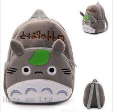 My Neighbor Totoro Soft Plush Backpack Boys Girls Kids Character School Bag