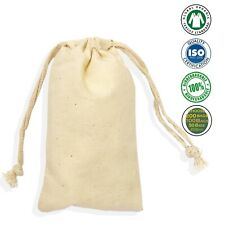 "25/50/100(8by10)"" Large Double Drawstring Cotton Gift Bags