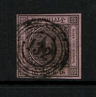 Baden SC# 4a, Used, w/ 132 Black 5 Ring Cancel - S3620