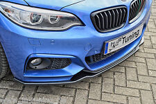 Azione speciale spoiler spada FRONT SPOILER da ABS per BMW 2er f22 f23 M-pacchetto Abe
