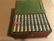Set Of 10 New Sealed AD-C90 Cassettes Tapes Type I Made In Japan With Carry Case