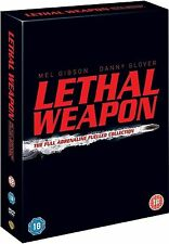 Lethal Weapon 1 2 3 4 Complete Collection 4 Disc Box Set DVD UK Rel  New Sealed
