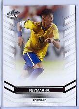 NEYMAR JR 2016 LEAF DRAFT (EXCLUSIVE EDITION) CARD #19 W/H TOP LOADER! BRAZIL!