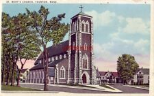 St. Mary'S Church Taunton, Ma 1941