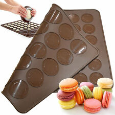 Double Sided Silicone Macaron Macaroon Mat Oven Baking Liner Sheet Trays