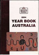 Year Book Australia...2004...No. 86...Hard Cover...ABS...Commonwealth...Map...