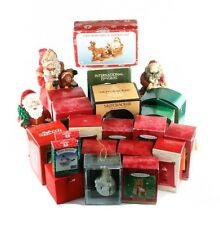 Lot of 14 Hallmark Ornaments & Other Christmas Memorabilia! Great Starter Kit!