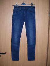 Ralph Lauren Damen Jeggings Skinny Röhre Jeans blau used wash W29 L32 Neu