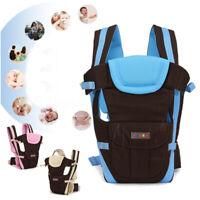 Baby Carrier Infant Newborn Toddler Adjustable Backpack Breathable Holder Wrap