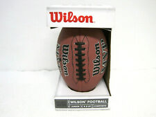 New Wilson Mvp Model Wtf1410 Junior Size Compos 00006000 ite Double Laces Football Age 9+