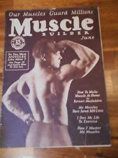 Rare Macfadden MUSCLE BUILDER bodybuilding magazine/OTHO ARCO 6-26