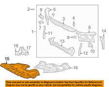 Lexus TOYOTA OEM IS300 Under Radiator/Engine-Cover Splash Shield 5141053012