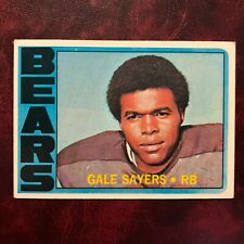 1972 Topps Set GALE SAYERS #110 CHICAGO BEARS - VG-EX