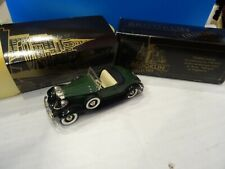 Brooklin Models -  BRK6A 1932 Packard Light 8 Convertible Coupe in green/black