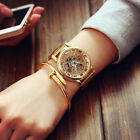 Fashion Casual Stainless Steel Skeleton Watch Mens Womens Hollow Quartz Watches