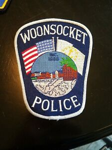 Woonsocket, Rhode island police patch