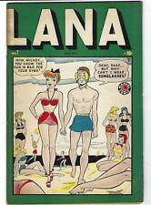 Lana #7 - GGA - Showgirls -  Dan DeCarlo art - Nellie the Nurse story  - TGL