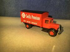 "Mack Delivery Truck ""Swift's Premium"" 1:87 HO Scale Train Accessory -Hartoy"