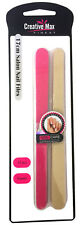 Creative Max Finest - 10 Pack Pro Salon Quality Nail Styling Emery Boards