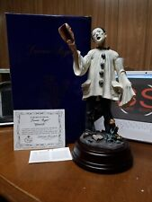 "Duncan Royale Clown Collection Musical Limited Edition ""Pierrot� Figurine w/Coa"