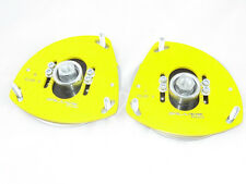 Camber plates for Renault Clio 3 , Nissan Micra 3 adjustable yelow