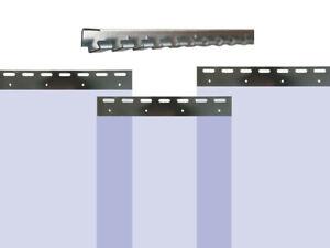 91,54EUR/1m PVC Vorhang Blau Breite: 200cm - Lager Industrie Kunststoff Hallen