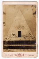 Canova Tomb Venice albumen photo Venezia 1880c Carlo Naya L444