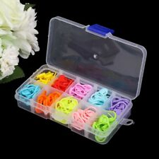 120PCS Knitting Crochet Locking Stitch Needle Clip Amazing Markers Holder Tool