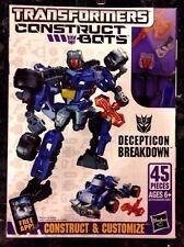 Transformers Construct-Bots Scout Class Decepticon Buildable Action Figure NIB