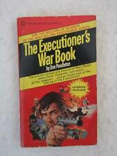Don Pendleton THE EXECUTIONER'S WAR BOOK 1977 Pinnacle Paperback First Printing