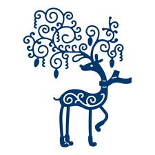 Tattered Lace PRANCER Reindeer cutting die D869