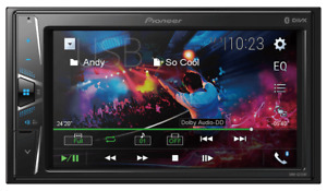 "Pioneer DMH-G225BT 2 DIN Multimedia AV Receiver  6.2"" Display & Bluetooth"