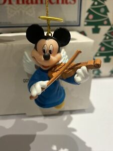 Mickey Mouse Angel Disney Grolier Christmas Magic Ornament New In Box