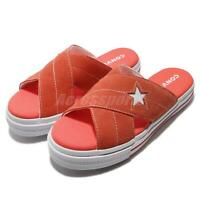 Converse One Star Sandal Orange Egret Women Sports Sandals Slide Slipper 564146C