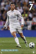 Cristiano Ronaldo CR7 Real Madrid  Soccer Poster Season 2016 - 2017 Brand New