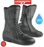 NEW Dririder TOUR motorcycle boots WATERPROOF rrp$249 TWIN ZIP OPENING Road