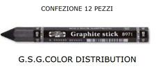 STICK GRAFITE 2B PER DISEGNO ESAGONALE RICOPERTO CON CARTA CONFEZIONE 12 PEZZI