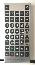 Jumbo Universal Remote Control Big Giant Elderly Upto 8 Devices Without Package