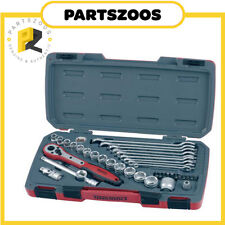 "Teng Tools 40pce Socket Spanner 3/8"" Drive Ratchet Set New T3840"