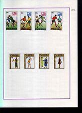 Rwanda 1974 Album Page Of Stamps #S961